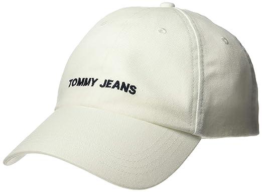 007f25a7 Tommy Jeans Men's TJU Sports Baseball Cap, Black, OS at Amazon Men's ...