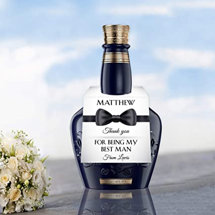 Gracias por Ser Mi Mejor Hombre Botella Etiqueta Topper ...