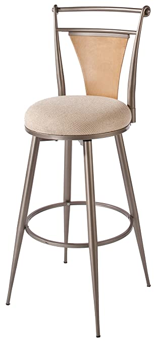 swivel counter stool pewter backless stools sets 24 canada