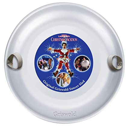griswold aluminum saucer sled christmas vacation - Christmas Vacation Sled