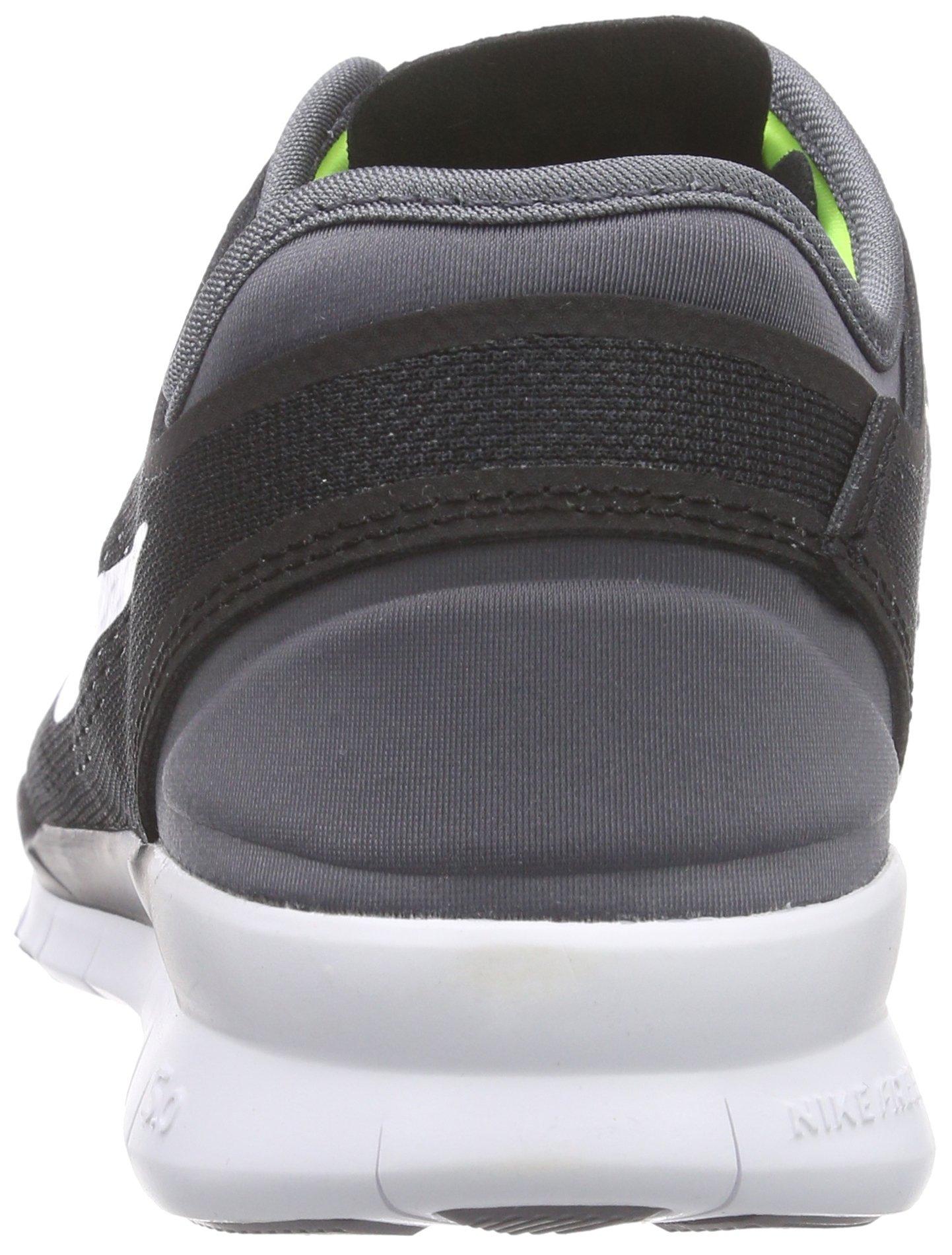 Nike Womens Free 5.0 Tr Fit 5 Black/White/Dark Grey/White Training Shoe 5 Women US by Nike (Image #2)