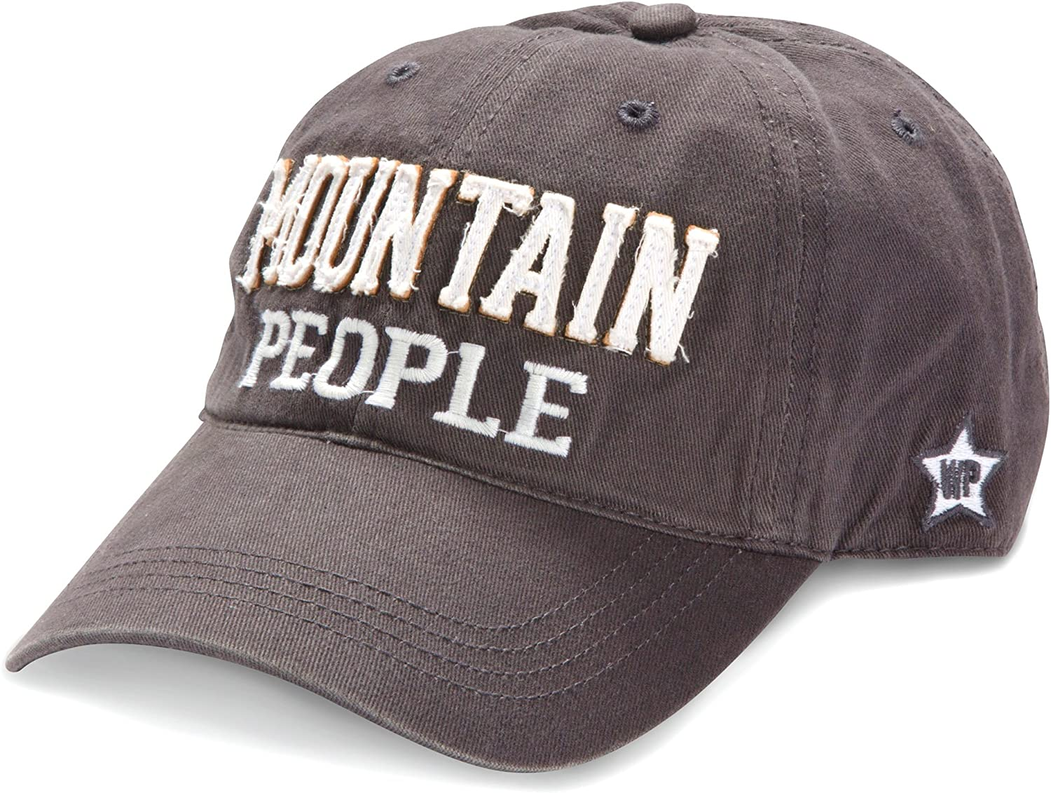 Pavilion Gift Company Mountain People Adjustable Strap Cap