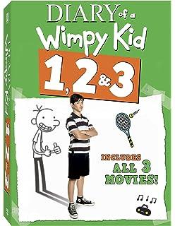 Amazon diary of a wimpy kid 1 3 triple feature rachael diary of a wimpy kid 3 pack diary of a wimpy kid rodrick rules solutioingenieria Choice Image