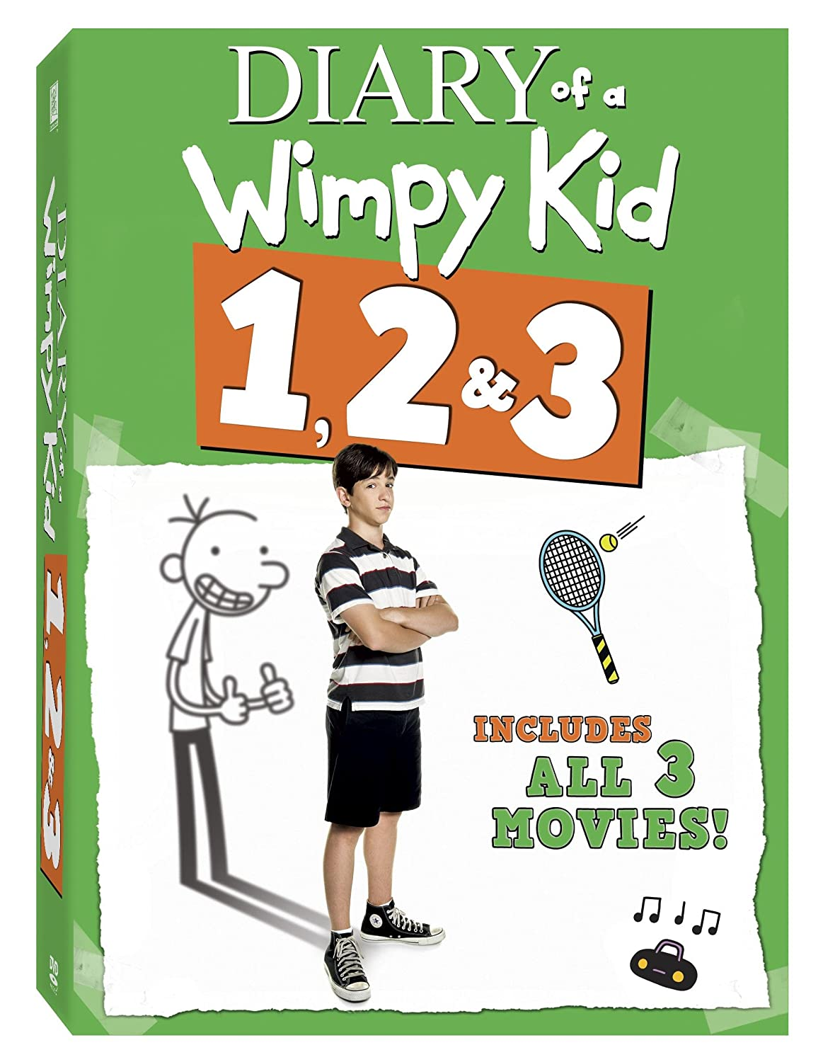 Amazon diary of a wimpy kid 3 pack diary of a wimpy kid amazon diary of a wimpy kid 3 pack diary of a wimpy kid rodrick rules dog days movies tv solutioingenieria Image collections