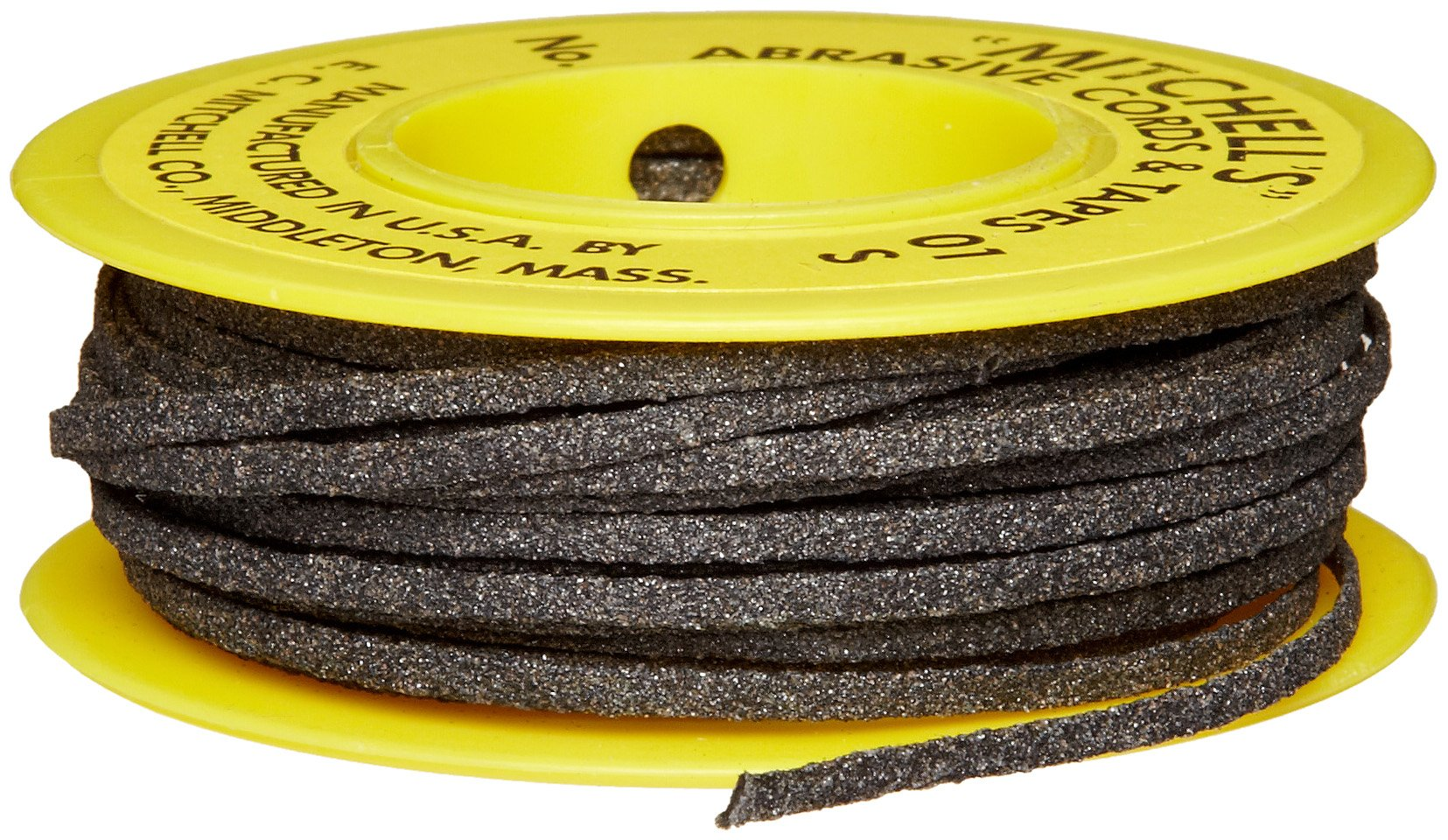 Mitchell Abrasives 01-S Flat Abrasive Tape, Silicon Carbide 180 Grit 1/16'' Wide x 50 Feet