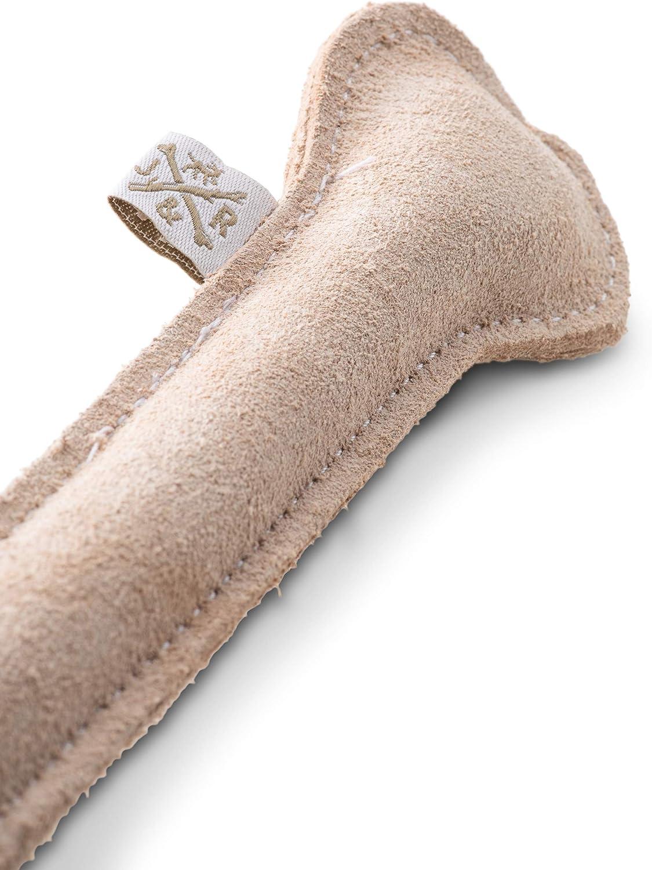 Jack & Russell Spielzeugknochen aus Leder Naturleder