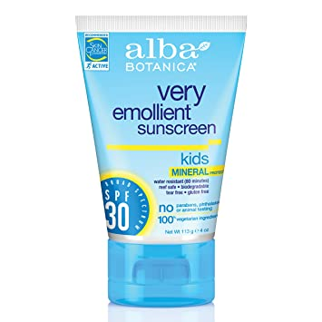 Image result for Alba Botanica Kids Mineral Sunscreen