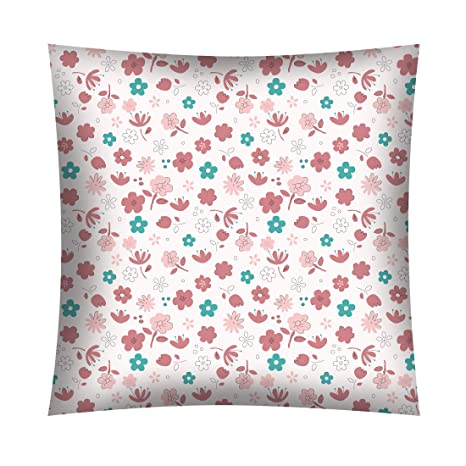 Funda de almohada infantil (40 x 40 cm, 100% algodón, con ...