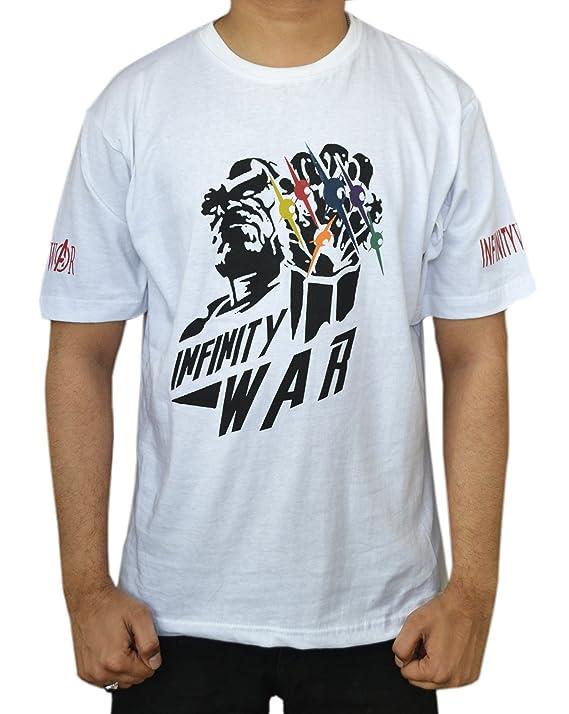 TAF Men's Avengers Infinity War T Shirt Space Mind Reality Power Soul Time T Shirt