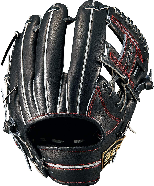 人気の ZETT(ゼット) 硬式野球 ネオステイタス グラブ (グローブ) セカンドショート用 ブラック グラブ 右投げ用 日本製 右投げ用 BPGB12920 B07K37Z62P ブラック ブラック, アルミ形材の専門直販店 aluminum:d017b0ad --- a0267596.xsph.ru