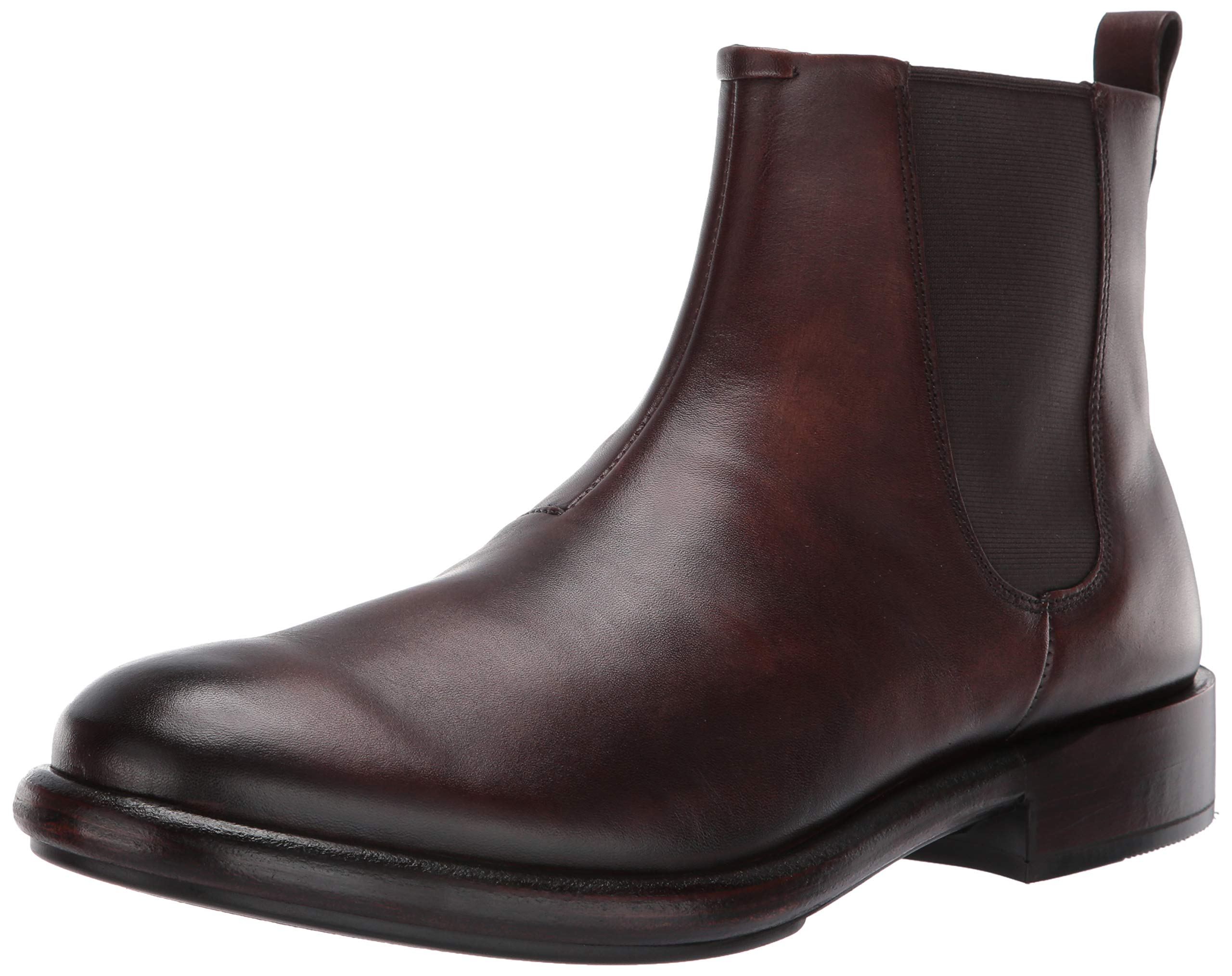 ECCO Men's Stealth Artisan Chelsea Ankle Boot, Cocoa Brown, 42 M EU (8-8.5 US)