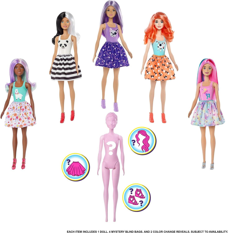 - Amazon.com: Barbie Color Reveal Doll Assortment: Toys & Games