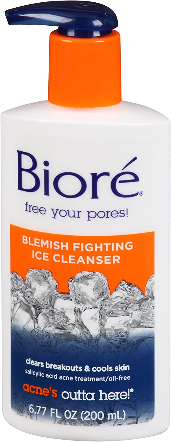 Bioré Blemish Fighting Ice Cleanser (6.77 oz)