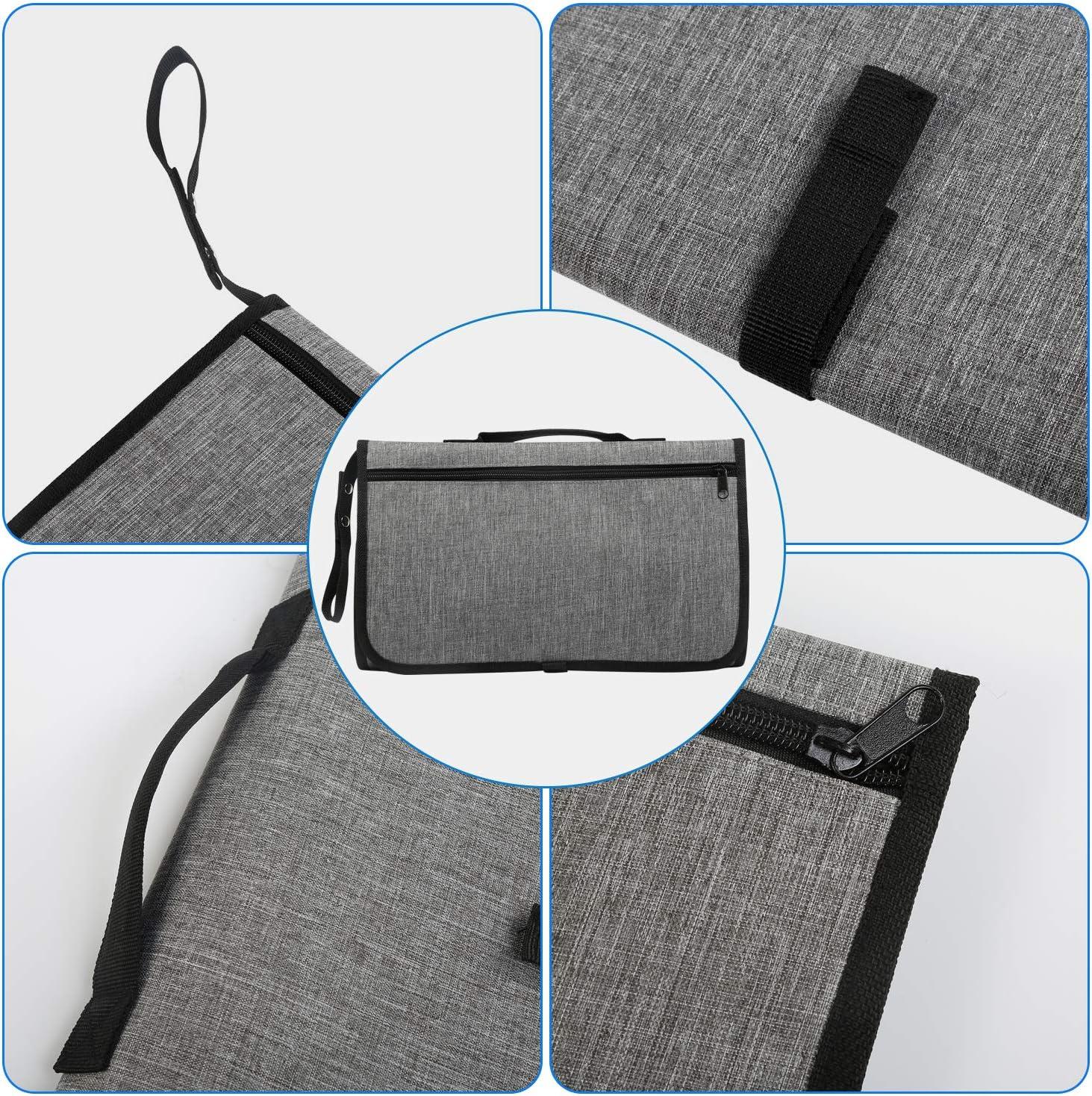 Lavable Plegable Orinal Infantil Pad Kit de Cambiador Para el Hogar Viaje Fuera LEADSTAR Port/átil Cambiador Impermeable Cambiador de Pa/ñales para Beb/é Cambiador de Viaje Gris