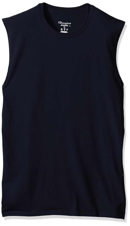 e7d27f42986f Amazon.com: Champion Men's Classic Jersey Muscle T-Shirt: Clothing