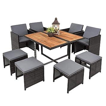 Amazonde Estexo Polyrattan Set Rattan Sitzgruppe Gartenmöbel
