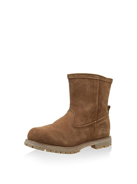 Timberland Authentics Warm Line, Botines para Mujer, Marrón, 40 EU: Amazon.es: Zapatos y complementos