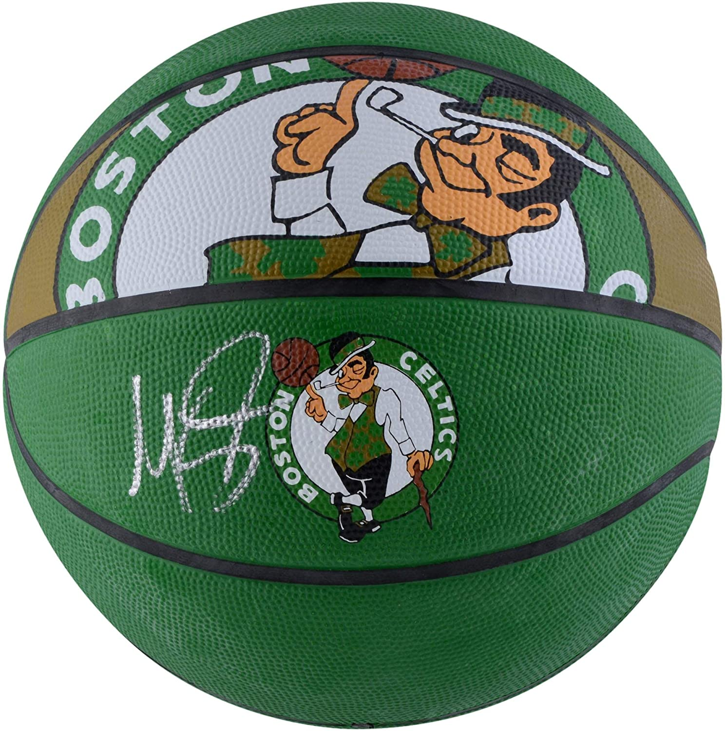 Marcus Smart Boston Celtics Autographed Spalding Courtside Basketball - Fanatics Authentic Certified