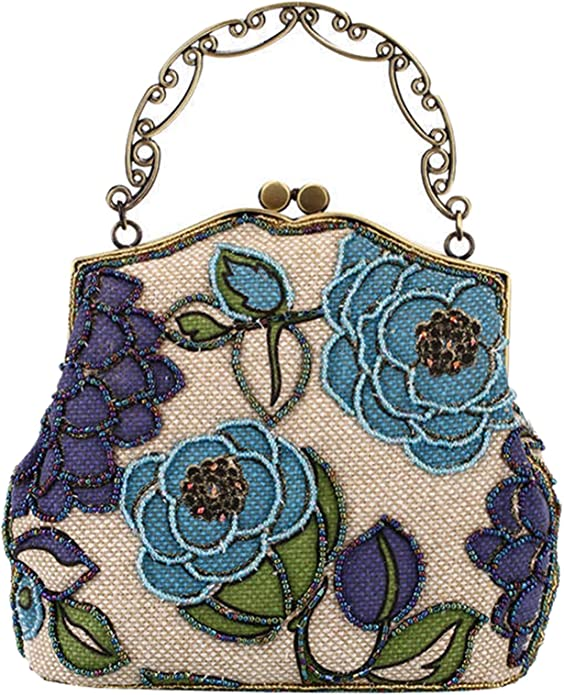 Women's Beaded Evening Bag