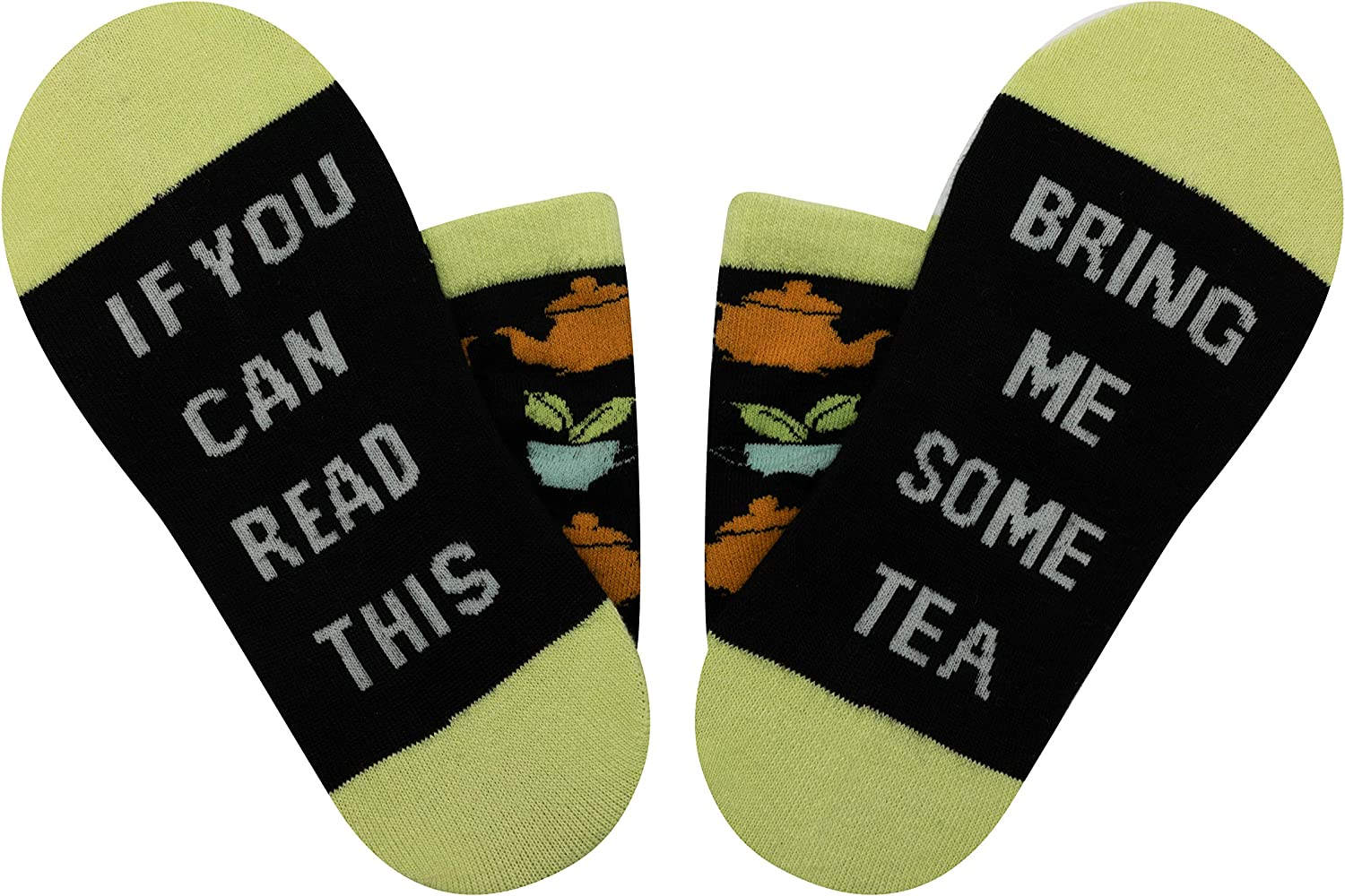Unisex 1PK Novelty Socks If You Can Read This Printed Funny Socks with Movies Tea Coffee Tacos …