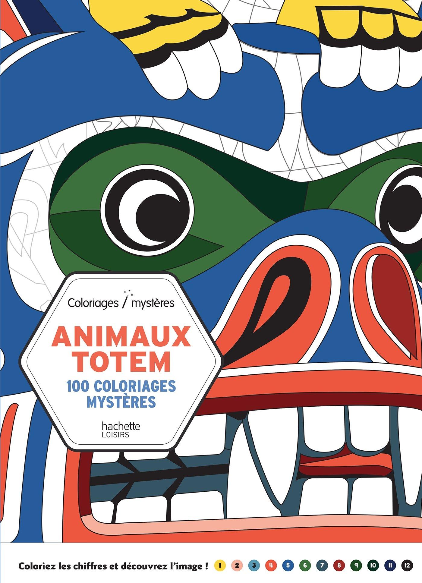 Coloriage Animaux Totem.Amazon Fr Animaux Totem Antoine Limare Livres