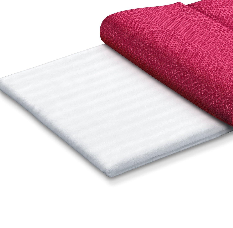 Beurer LUXO AT-M - Almohadilla electrónica, 44 x 33 cm, lavable, color rojo: Amazon.es: Salud y cuidado personal