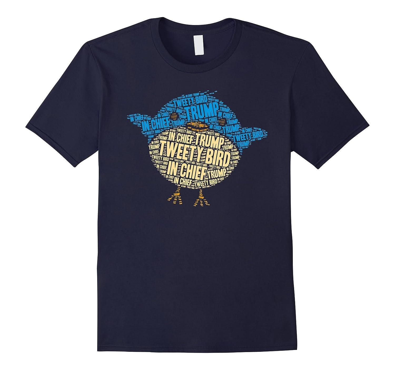 Tweety-Bird-In-Chief Cute Satirical Bird T-shirt
