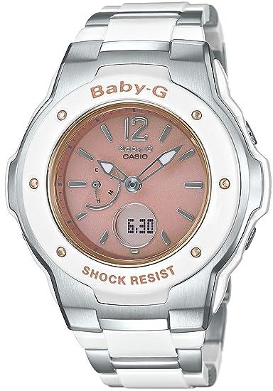 Reloj mujer Casio Baby-g Tripper Solar de mundo 6 estaciones Radio msg-3300