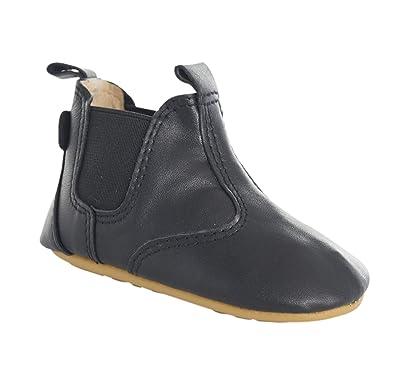 move Prewalker Chelsea Lauflernschuh Unisex, Chaussures Marche Mixte Bébé,  Noir-Schwarz (BLACK190