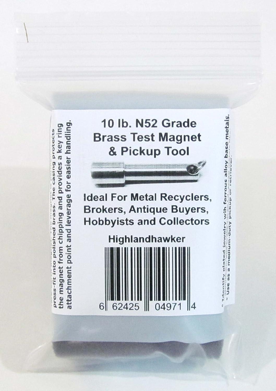 N52 Neodymium Pocket Key Chain/ring Gold & Silver Jewelry Test ...