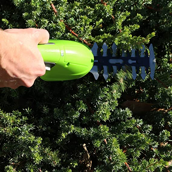 Amazon.com: Greenworks 7.2V Cordless Hedge Shear & Shrubber ...