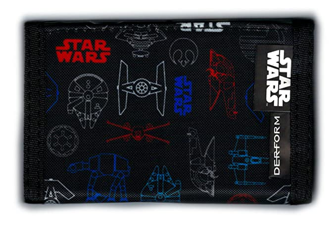 STAR WARS - Cartera de monedero con monedero infantil