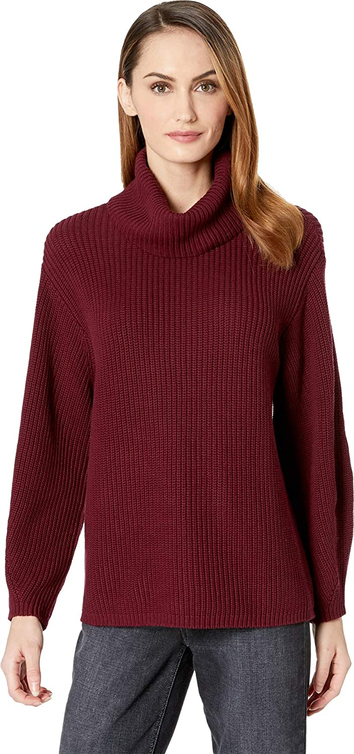 347301518ad Vince Camuto Womens Long Sleeve Rib Turtleneck Slouchy Sweater at Amazon  Women s Clothing store