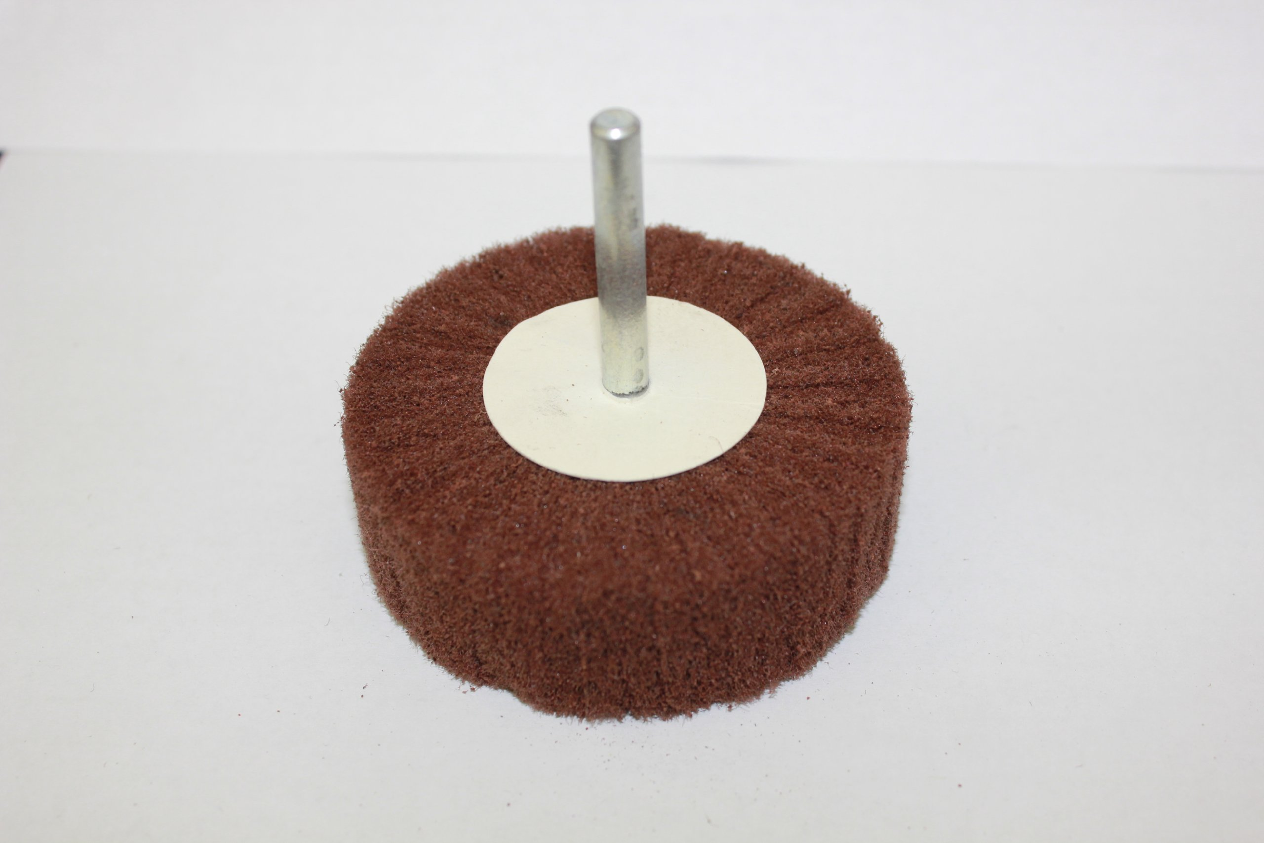 Sundisc 40016 Super Non-Woven Abrasive Flap Wheel, 3'' Diameter x 2'' Width, Very Fine Grit, 8600 RPM (Pack of 10)