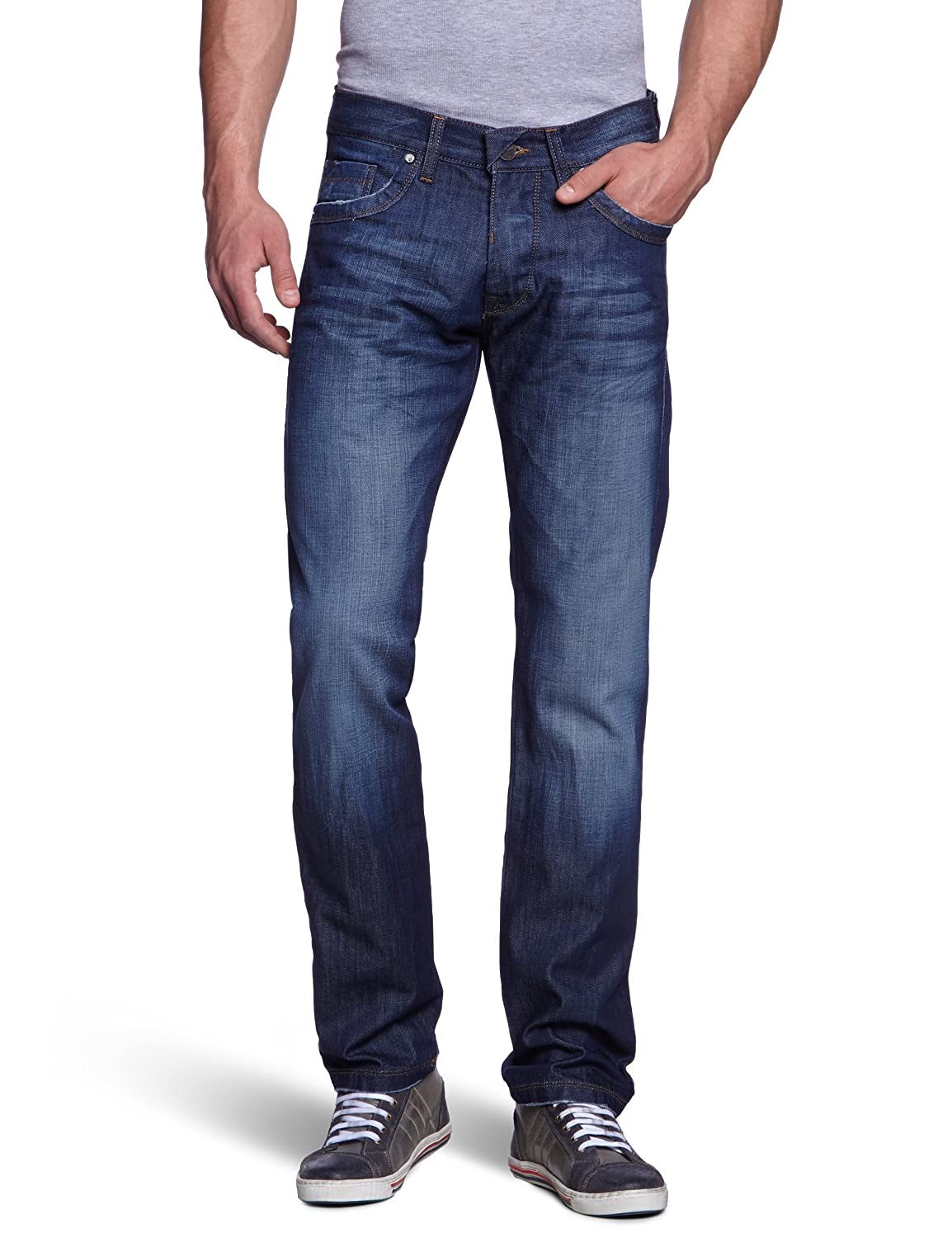 FREEMAN T.PORTER Herren Jeans Normaler Bund 00025331_6002 / Decatur Denim F0509-34 splendid L34