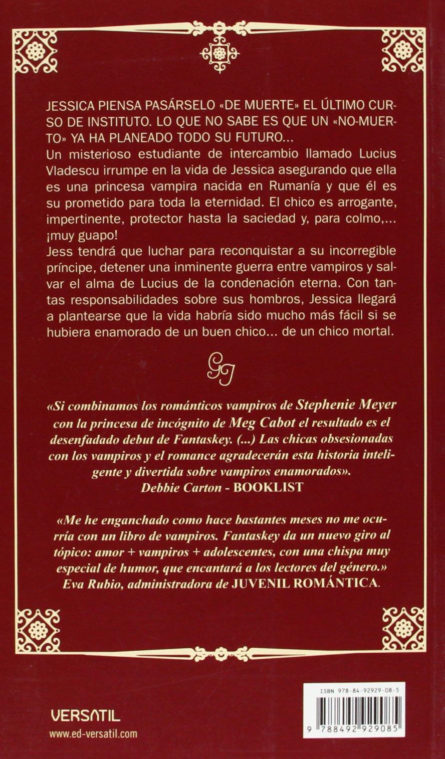 Guia de Jessica para ligar con vampiros: Beth Fantaskey: 9788492929085: Amazon.com: Books