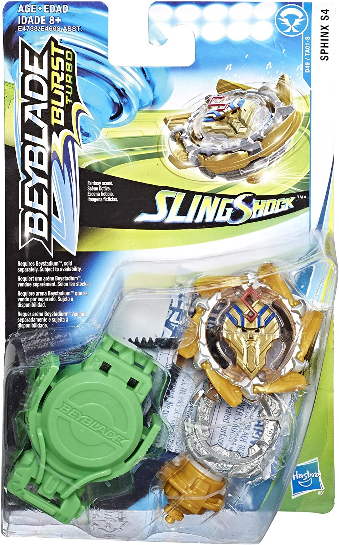Hasbro Beyblade Burst Turbo SlingShock Starter Pack Sphinx S4 ...