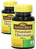Nature Made Potassium Gluconate 550mg