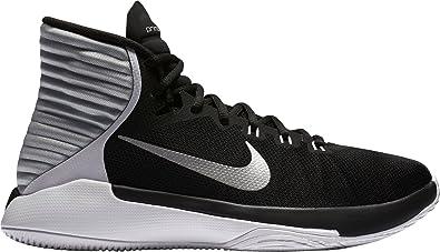 Nike Mujer Prime Hype DF 2016 Baloncesto Zapatos, Negro/Blanco/Plateado: Amazon.es: Deportes y aire libre