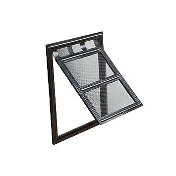 JAROLIFT - Anido Puerta gatera para mascotas/Gatera para puerta mosquitera giratoria