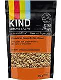 KIND Healthy Grains Clusters, Peanut Butter Whole Grain Granola, 10g Protein, Gluten Free, 312 Gram Bag