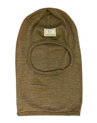 da3f77a1d6c Pickapooh Hat Merino Wool Silk Balaclava Baby Boy Girl Children Winter  Organic Bosse (48 cm