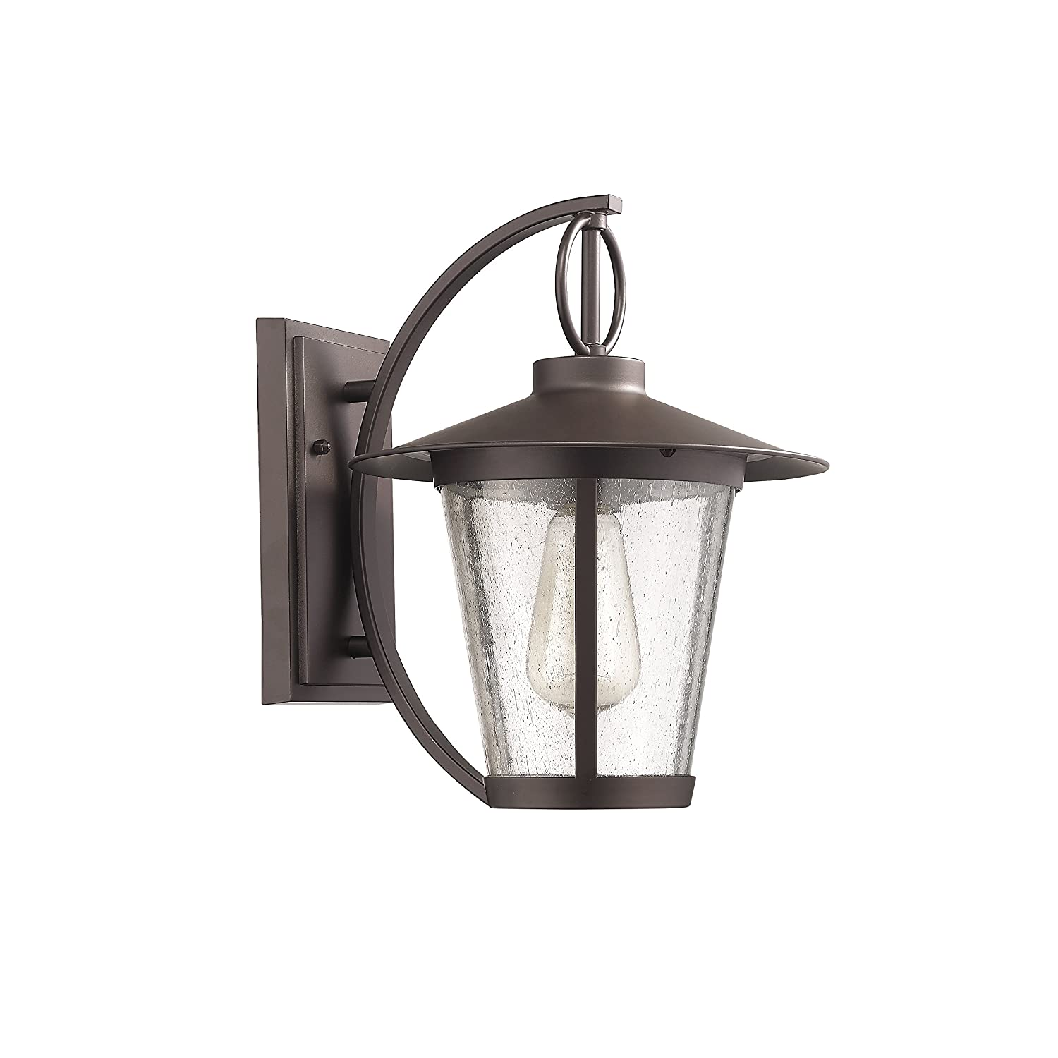Chloe Lighting CH822046RB12-OD1 Transitional 1 Light Rubbed Bronze Outdoor Wall Sconce 12 Height by Chloe Lighting B0190V3R54