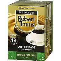 Robert Timms Italian Espresso Coffee Bags, 105 g