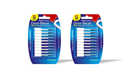 Denti - Brush - cepillos interdentales, pack de 2 (2x30 unidades)