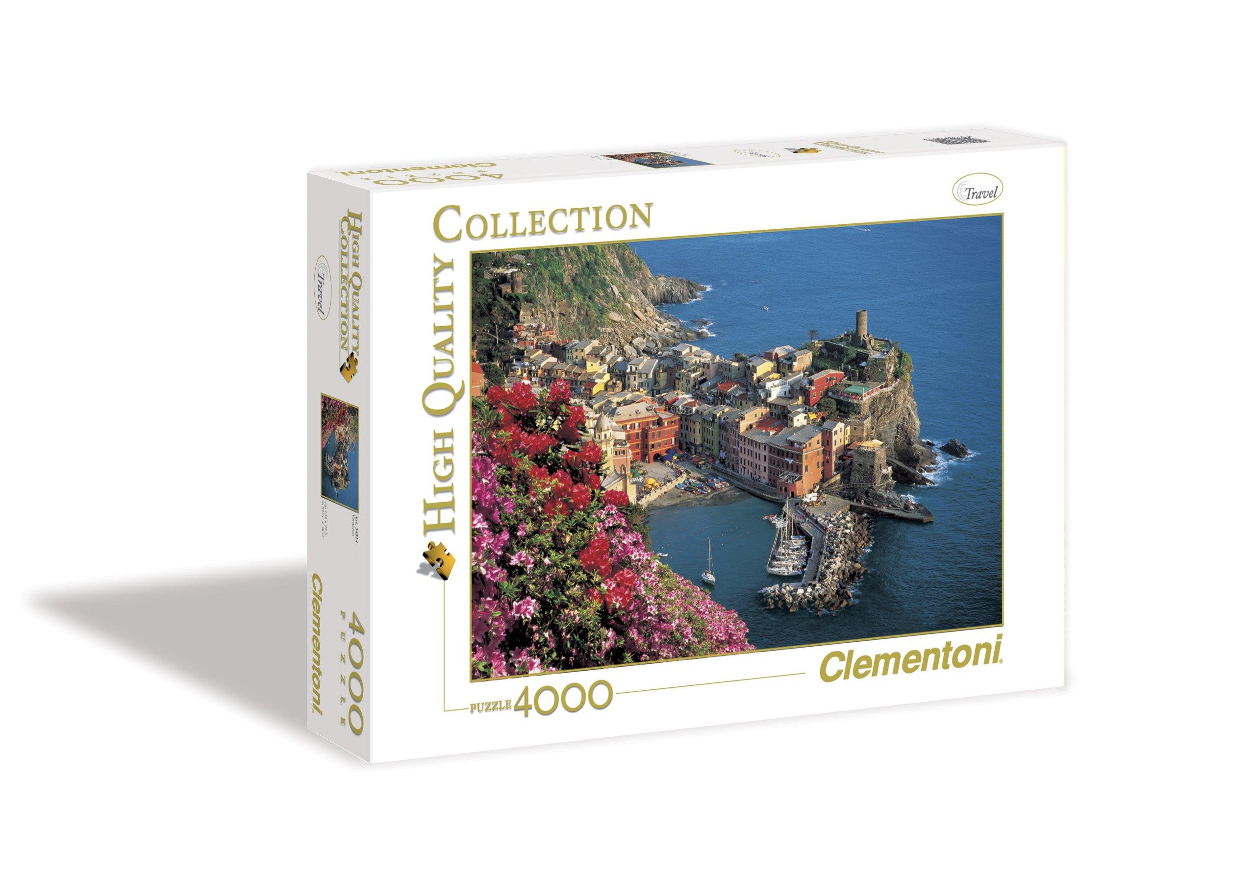 Clementoni Vernazza 4000 Piece Jigsaw Puzzle by Clementoni (Image #1)