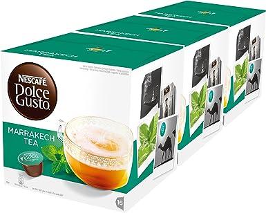 NESCAFÉ Dolce Gusto Marrakesh Style Tea, Pack de 3 x 16 Cápsulas - Total: 48 Cápsulas de té: Amazon.es: Alimentación ...