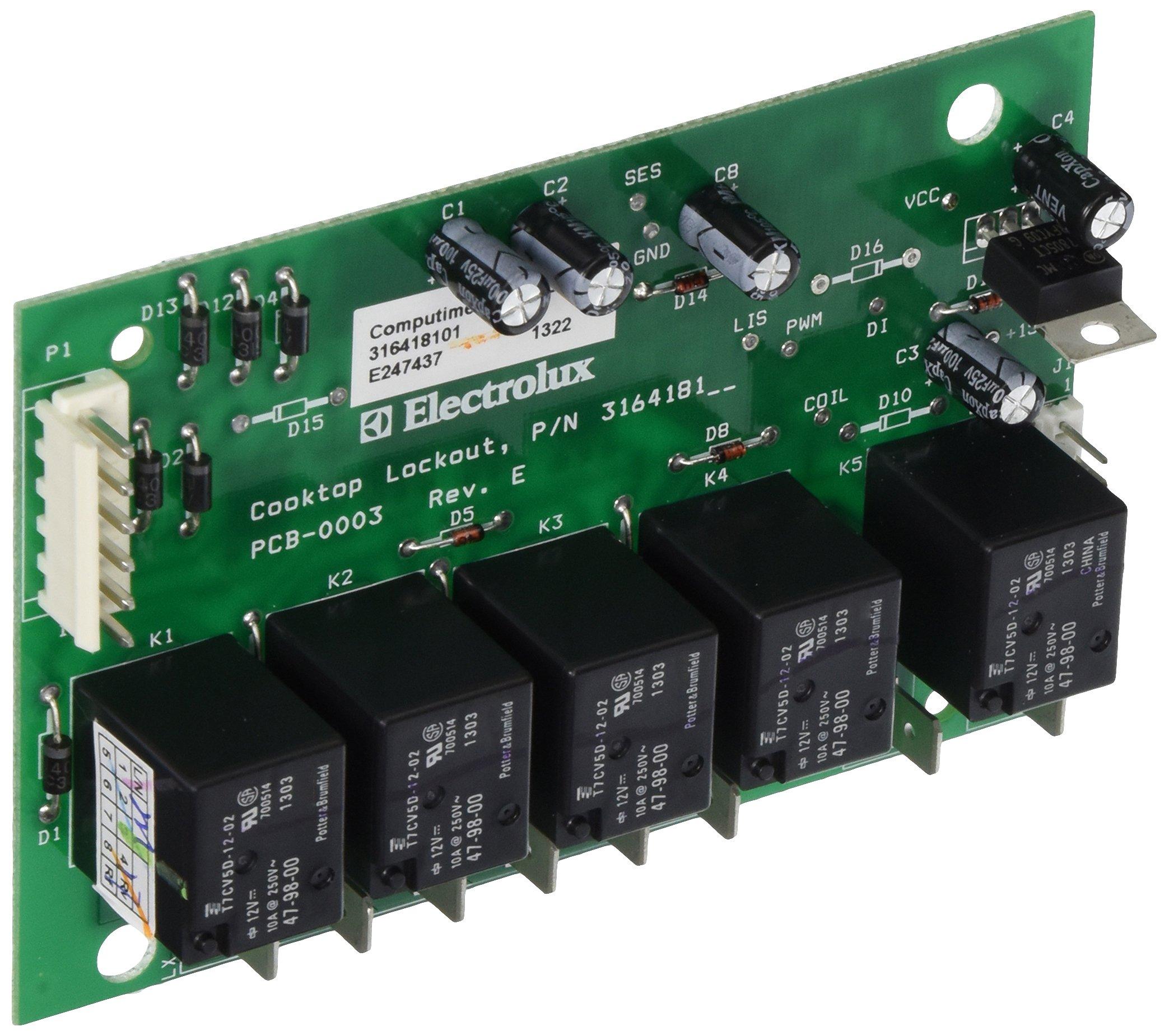 Frigidaire 316418101 Relay Board Range/Stove/Oven