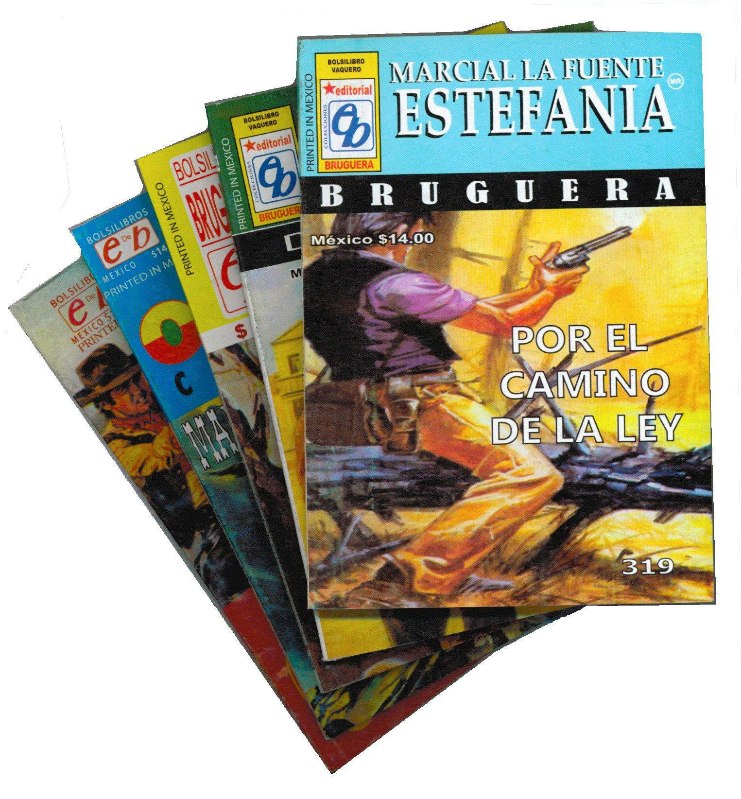 Novela Sorpresa del Libro Vaquero Por Marcial Lafuente Estefania y otros autores.: Marcial LaFuente Estefania: 9789706083524: Amazon.com: Books