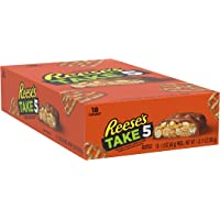 18-Pack REESE'S TAKE 5 Peanut Butter Milk Chocolate Candy Bar
